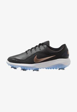 REACT VAPOR 2 - Zapatos de golf - black/metallic red bronze/vast grey