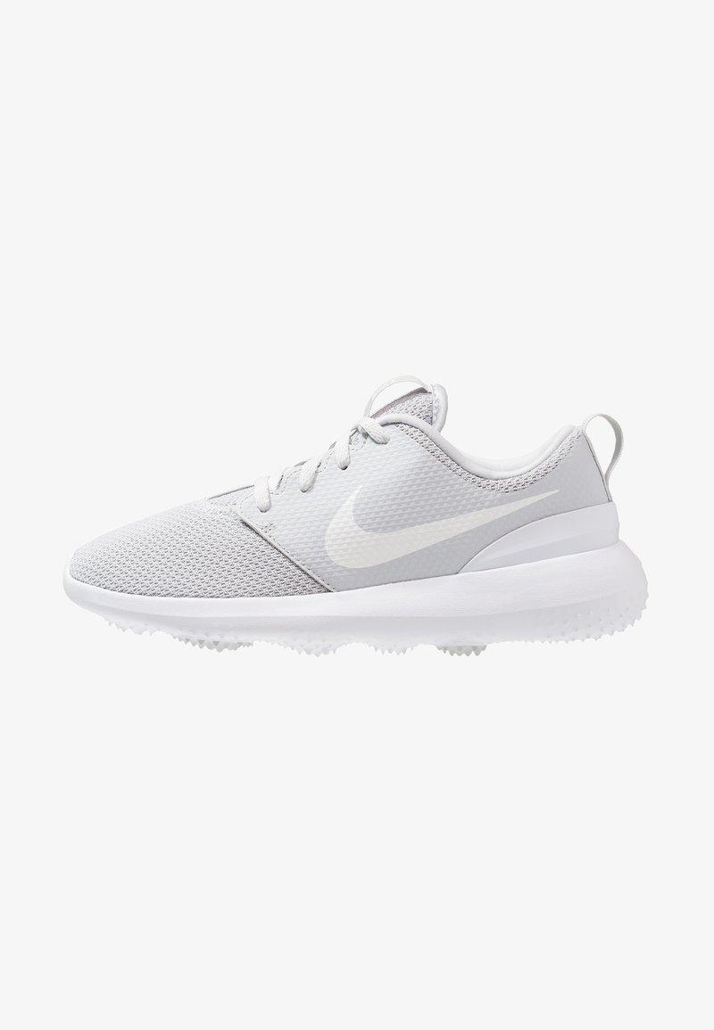 Nike Golf - ROSHE - Golf shoes - pure platinum/white