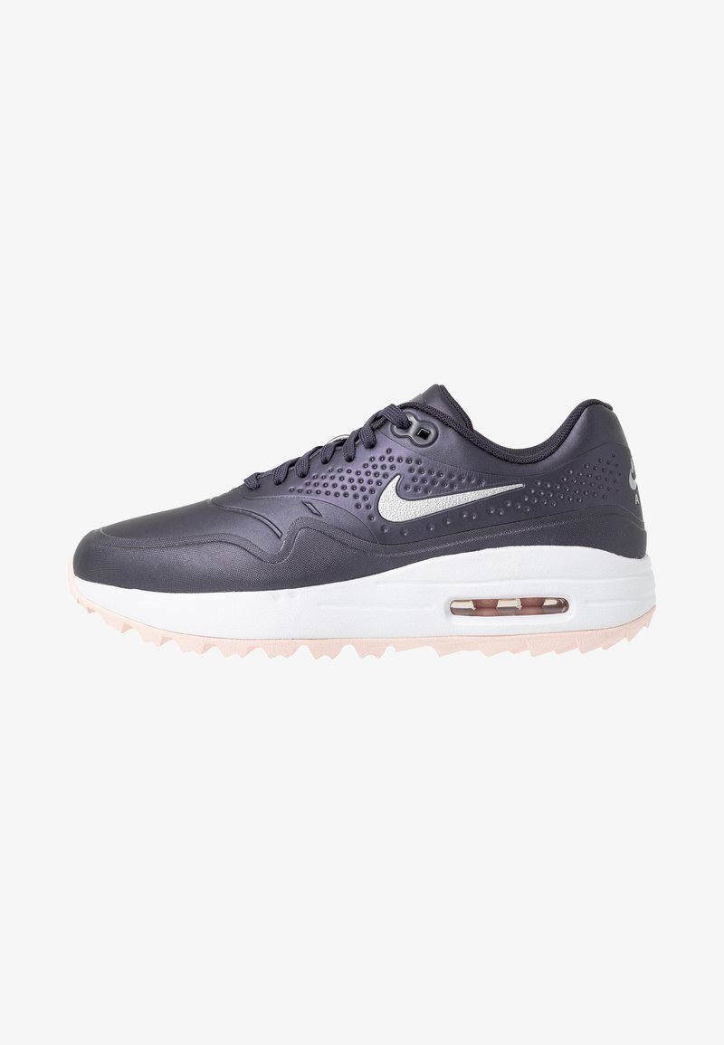 Nike Golf - AIR MAX 1 - Golfschuh - gridiron/metallic silver/echo pink/white