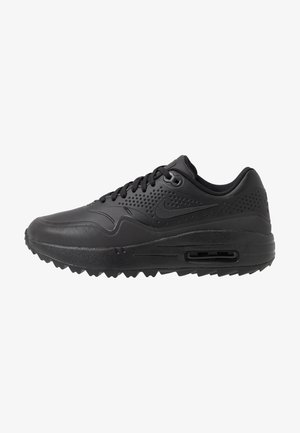 AIR MAX 1 - Obuwie do golfa - black/metallic silver