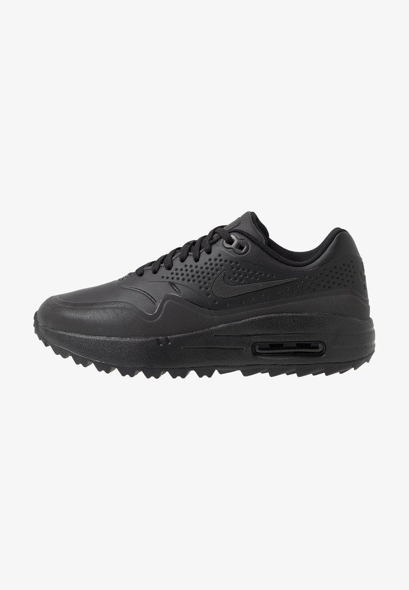 Nike Golf - AIR MAX 1 - Golfschuh - black/metallic silver