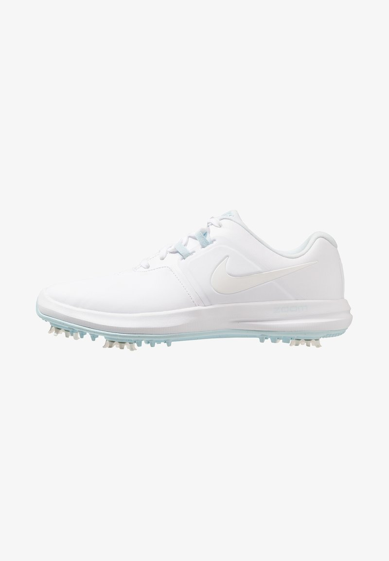 Nike Golf - AIR ZOOM VICTORY - Golfschuh - white/metallic white/topaz mist