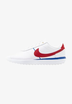 CORTEZ - Scarpe da golf - white/varsity red/varsity royal