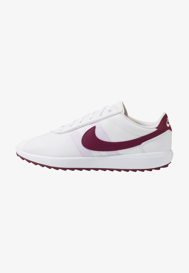 CORTEZ - Golfschoenen - white/villain red/barely grape/plum dust