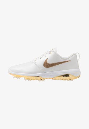 NIKE ROSHE WITH SWAROVSKI® CRYSTALS DAMEN-GOLFSCHUH - Golf shoes - summit white/metallic gold/white