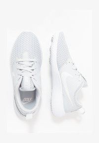 Nike Golf - ROSHE - Golfové boty - pure platinum/metallic white/white - 1