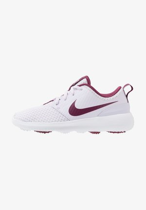 ROSHE G - Scarpe da golf - barely grape/villain red/white