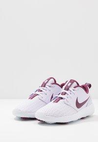 Nike Golf - ROSHE - Golfové boty - barely grape/villain red/white - 2