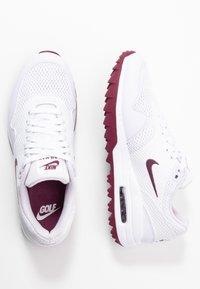 Nike Golf - AIR MAX 1 G - Golfsko - white/villain red/barely grape - 1