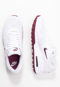 Nike Golf - AIR MAX 1 G - Golfové boty - white/villain red/barely grape - 1