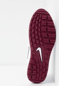 Nike Golf - AIR MAX 1 G - Golfsko - white/villain red/barely grape - 4