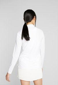 Nike Golf - DRY VICTORY HALF ZIP - Sports shirt - white - 2