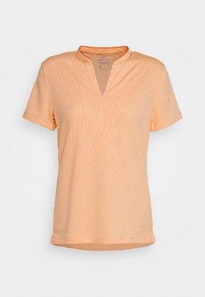 BREATH FAREWAY - Poloshirt - sunset haze/orange trance