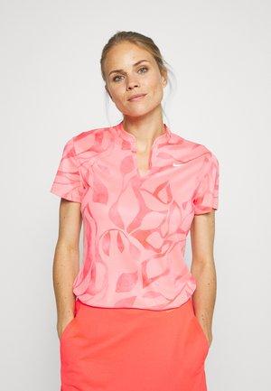 VICTORY  - T-shirt sportiva - pink gaze /white