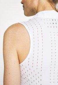 Nike Golf - DRY ACE POLO - Treningsskjorter - white - 5