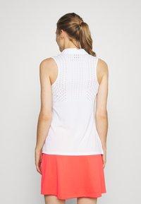 Nike Golf - DRY ACE POLO - Treningsskjorter - white - 2
