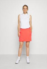 Nike Golf - DRY ACE POLO - Treningsskjorter - white - 1