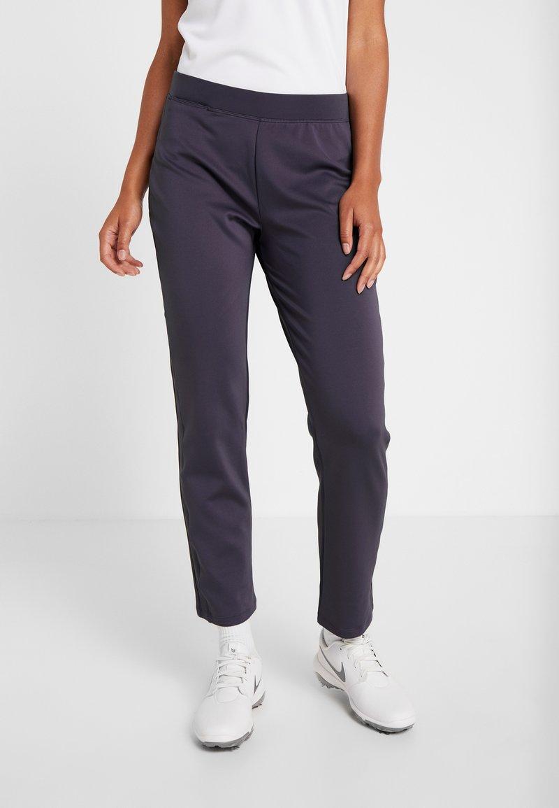 Nike Golf - WOMEN NIKE POWER PANT SLIM  - Stoffhose - gridiron