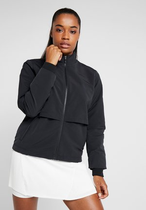 NIKE SHIELD DAMEN-GOLFJACKE - Outdoor jacket - black