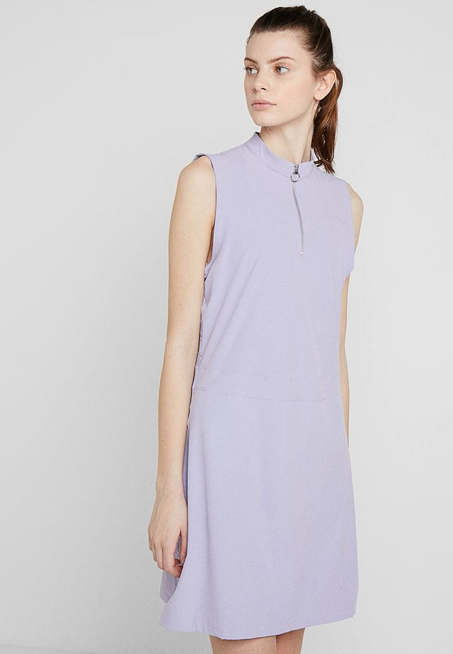 WOMEN NIKE DRY FLEX DRESS - Jurken - purple dawn