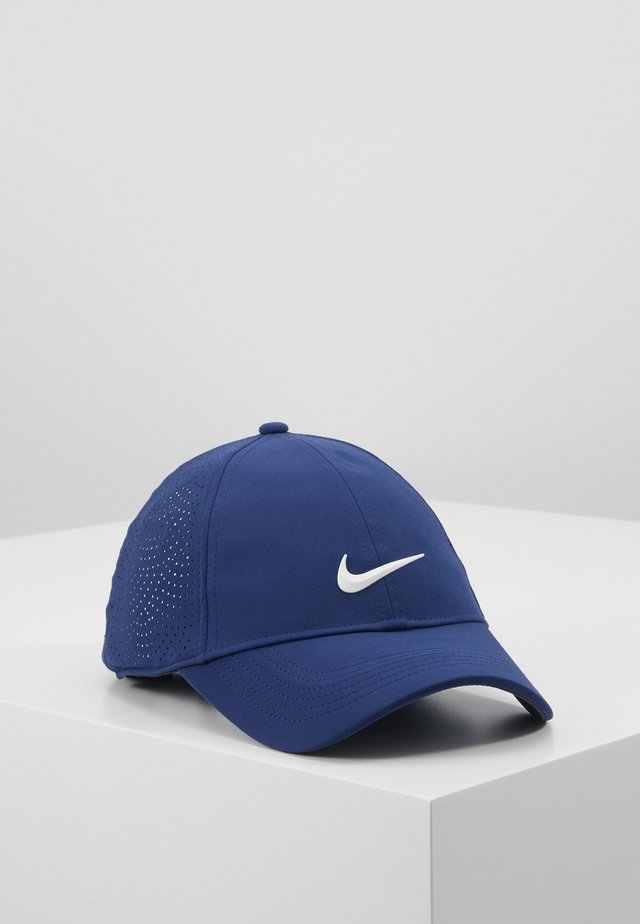 Cap - blue void/anthracite/white
