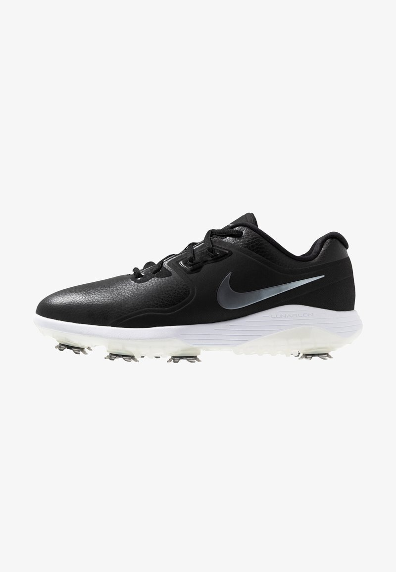 Nike Golf - VAPOR PRO - Golfskor - black/white/volt/metallic/cool grey