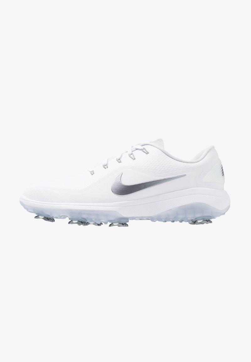 Nike Golf - REACT VAPOR  - Golf shoes - white/metallic cool grey/black
