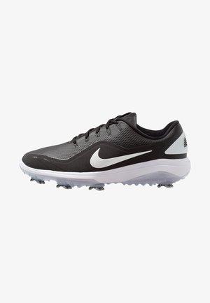 REACT VAPOR  - Golfskor - black/metallic white