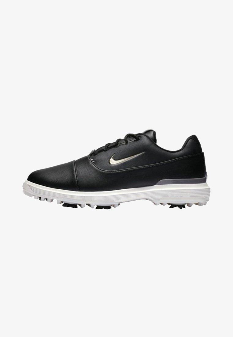 Nike Golf - AIR ZOOM VICTORY PRO - Golfsko - black/off-white/metallic grey