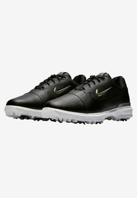 Nike Golf - AIR ZOOM VICTORY PRO - Golfové boty - black/off-white/metallic grey - 2
