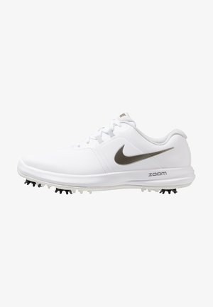 AIR ZOOM VICTORY - Obuwie do golfa - white/metallic pewter/vast grey/platinum tint