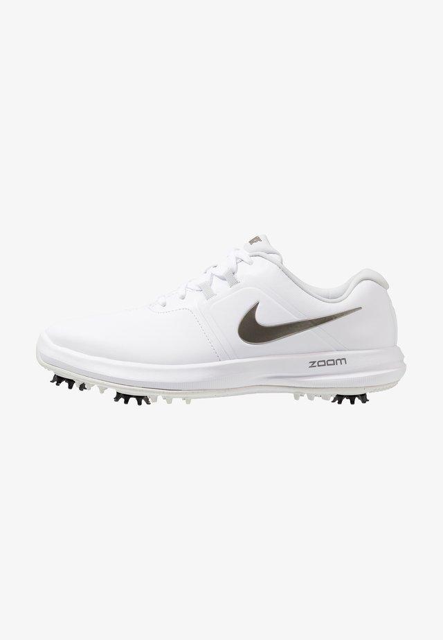 AIR ZOOM VICTORY - Golfsko - white/metallic pewter/vast grey/platinum tint