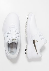Nike Golf - AIR ZOOM VICTORY - Golfové boty - white/metallic pewter/vast grey/platinum tint - 1