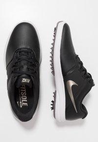 Nike Golf - AIR ZOOM VICTORY - Golfové boty - black/metallic pewter/gunsmoke/vast grey/platinum tint - 1