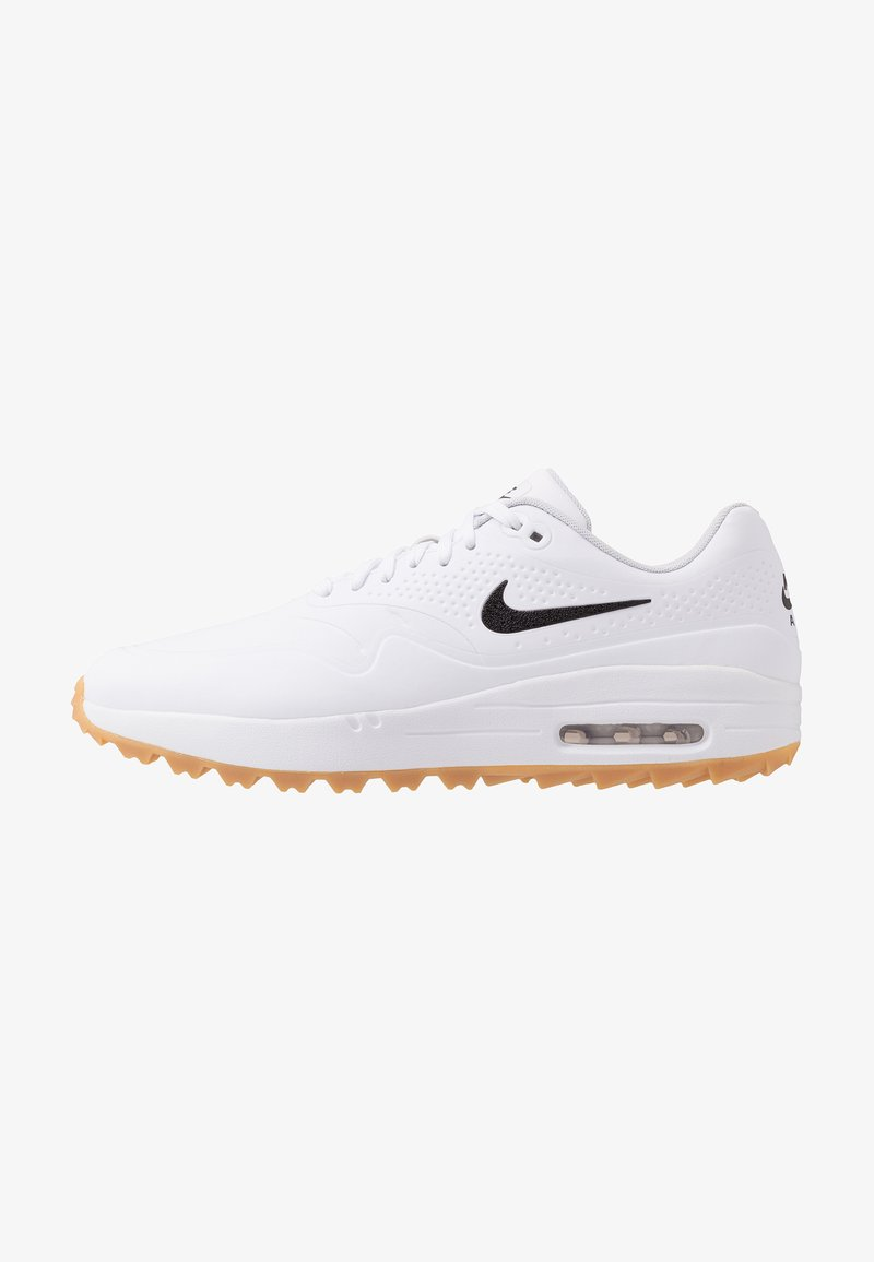 Nike Golf - AIR MAX 1 G - Chaussures de golf - white/light brown