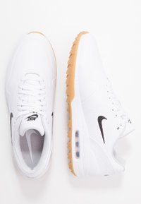 Nike Golf - AIR MAX 1 G - Chaussures de golf - white/light brown - 1