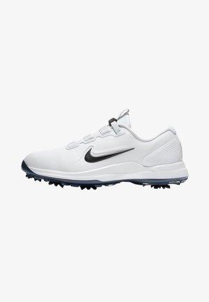 TIGER WOODS - Golfskor - white/metallic cool grey/pure platinum/black