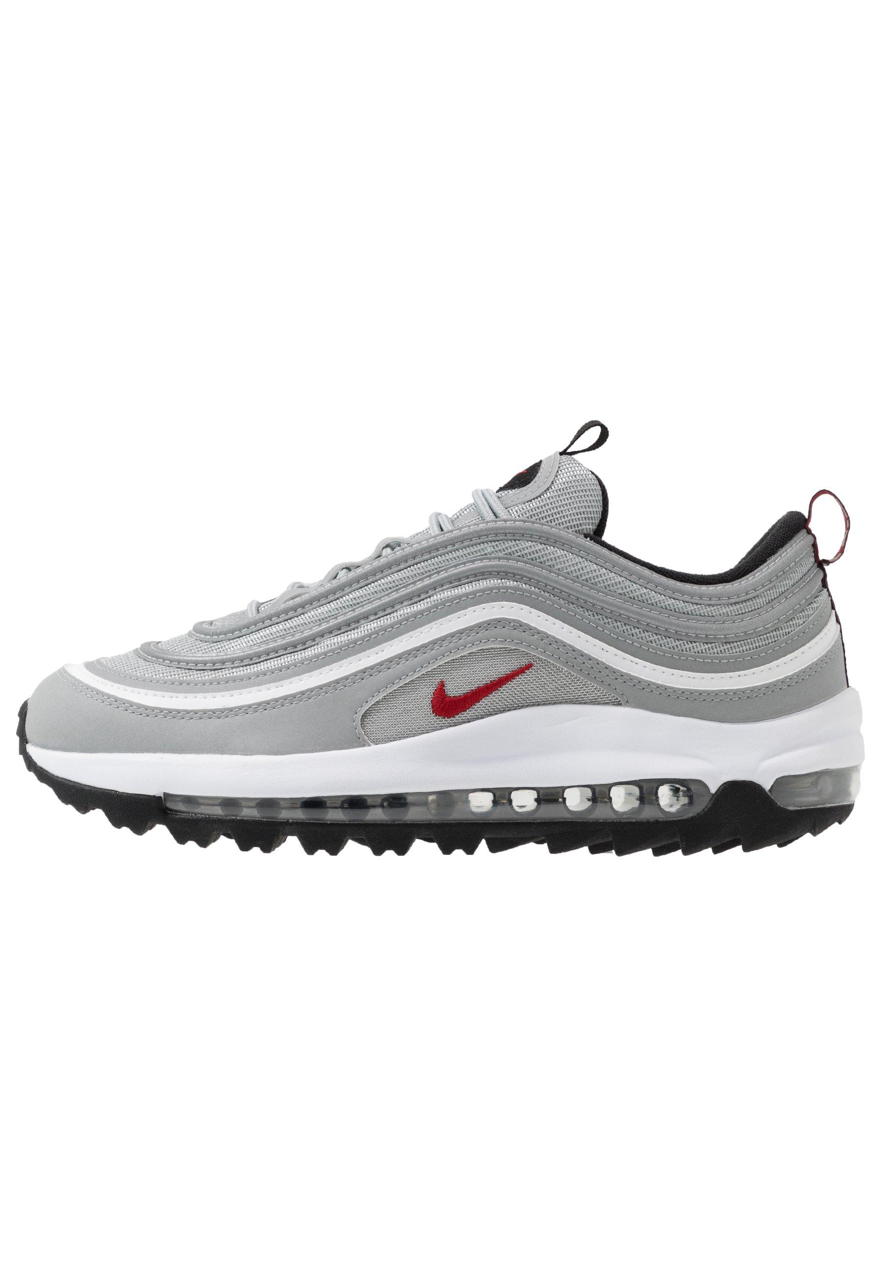 AIR MAX 97 - Golfschoenen - metallic silver/university red/white