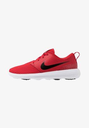 ROSHE G - Chaussures de golf - university red/black/white