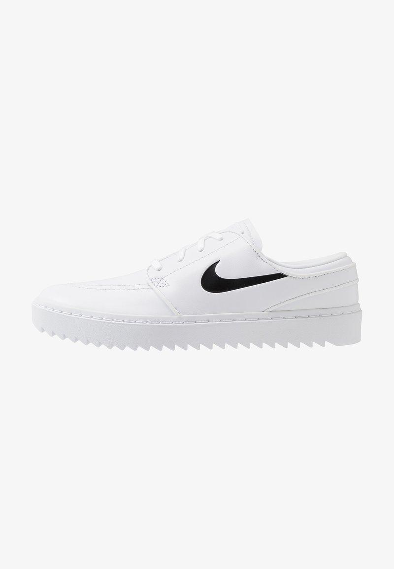 Nike Golf - JANOSKI G - Golfschoenen - white/black