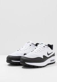 Nike Golf - AIR MAX 1 G - Golfsko - white/black - 2
