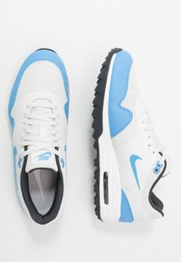 Nike Golf - AIR MAX 1 - Golf shoes - summit white/university blue/anthracite - 1