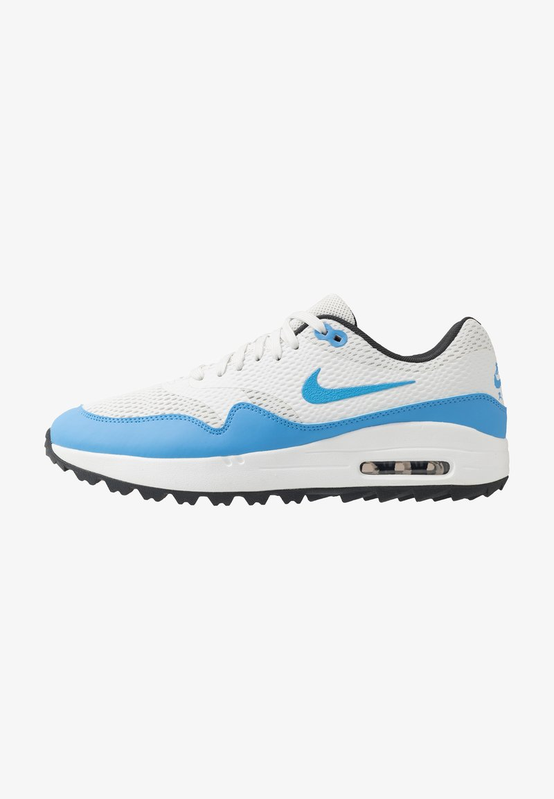Nike Golf - AIR MAX 1 - Golf shoes - summit white/university blue/anthracite