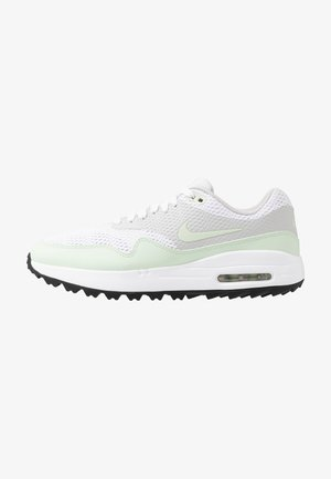 AIR MAX 1 - Golfové boty - white/jade aura/neutral grey/black