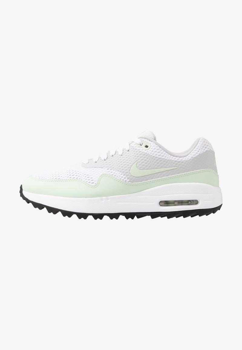 Nike Golf - AIR MAX 1 G - Golfsko - white/jade aura/neutral grey/black