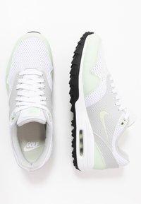 Nike Golf - AIR MAX 1 G - Golfsko - white/jade aura/neutral grey/black - 1