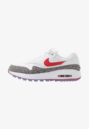 AIR MAX 1 G NRG SAFARI - Obuwie do golfa - white