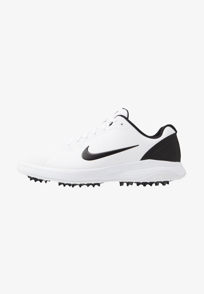 Nike Golf - INFINITY G - Golf shoes - white/black