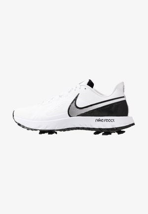 REACT INFINITY PRO - Obuwie do golfa - white/black