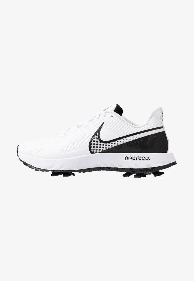 REACT INFINITY PRO - Golfskor - white/black